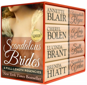 Scandalous Brides: Four Bestselling Full-Length Regency Novels