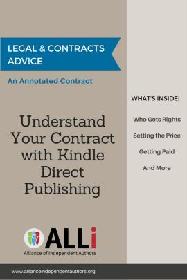 Legal Contracts The Alliance Of Independent Authors - Legal contracts