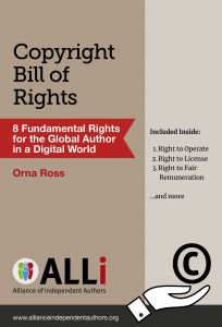 Book Cover Copyright Bill of Rights