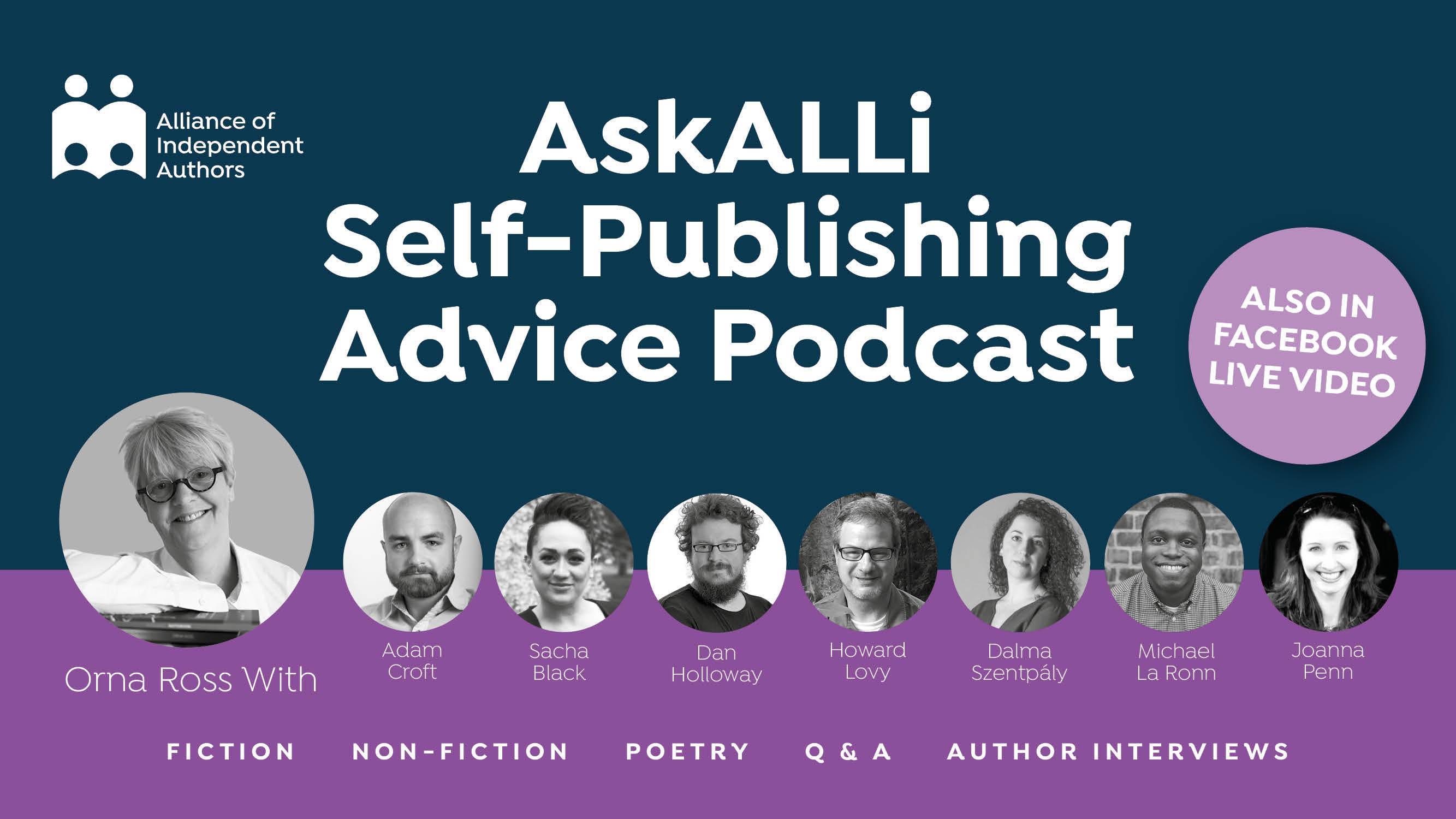 self-publishing advice podcast